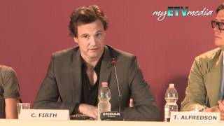 Colin Firth on Tinker, Sailor, Soldier, Spy (Venice Film Festival).mov