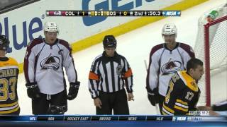 Gabriel Landeskog doesn't fight Milan Lucic 10/10/13 thumbnail