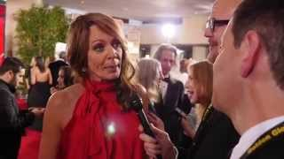 I was on the red carpet at the Golden Globes!