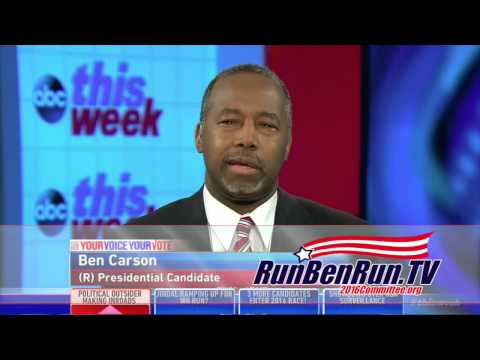 Ben Carson on Pundits and Polls