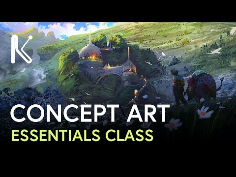 Concept Art Essentials | Class Trailer