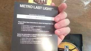 UNBOXING: Metro: Last Light Limited Edition【PC】