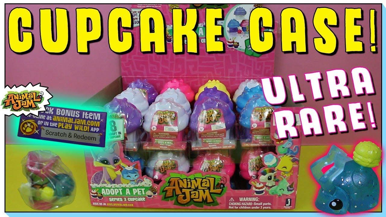 Omg I Got It Series 3 Animal Jam Case Opening Adopt A Pet Cupcake