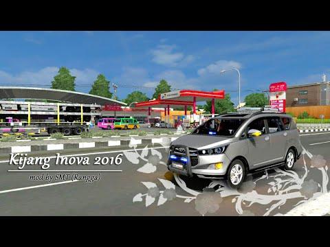 Ketika Sopir bus malam mencoba Mobil Inova 2016 || ets2 indonesia