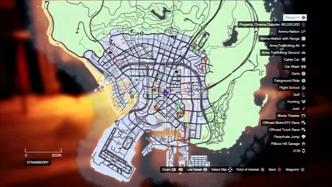 Grand Theft Auto V  Trevor Phillips Safe House Strawberry Map