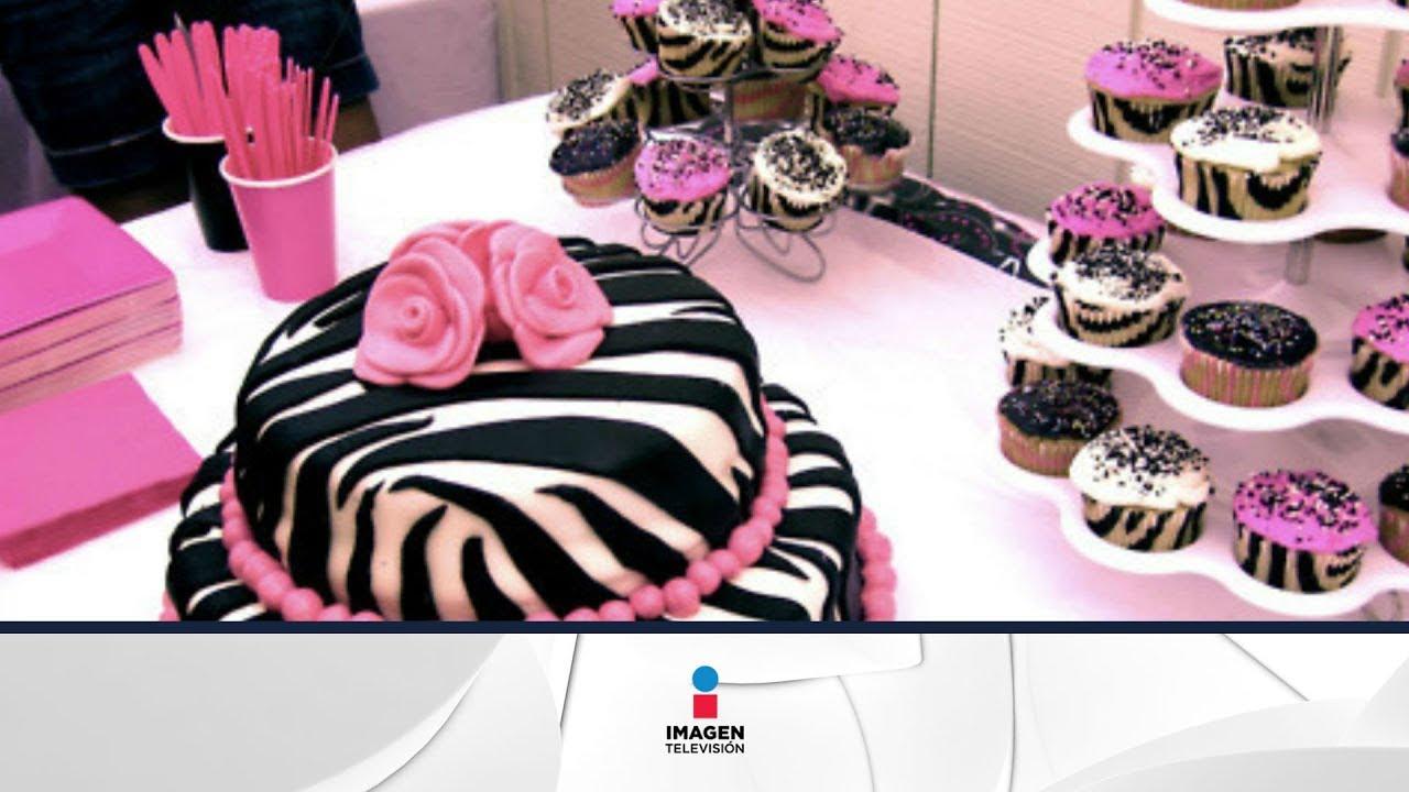C mo hacer un pastel con colores de cebra youtube for Decoracion cebra