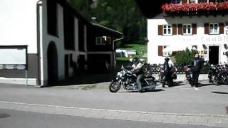 Braz-Austria. Back from ride and Thunderbird.