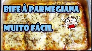 Bife à Parmegiana Fácil e Rápido