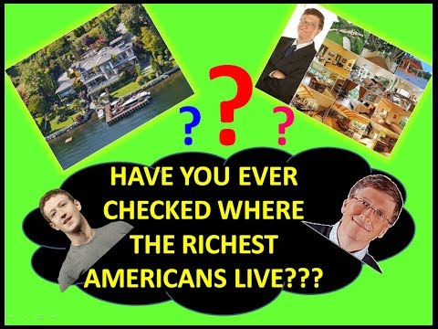 Mansions of the World's Richest Persons | World's Richest Persons House | Estate of the Richest |
