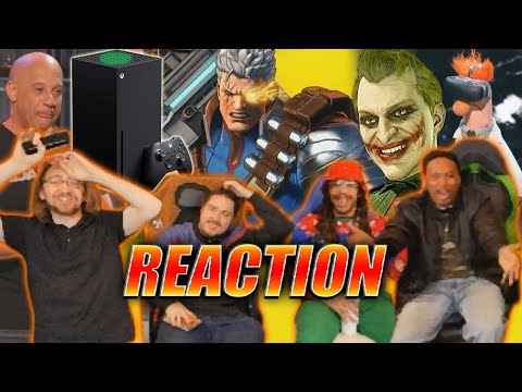 DOODS REACT: Xbox Series X - Joker MK11 - Tehken & More! (Game Awards 2019)