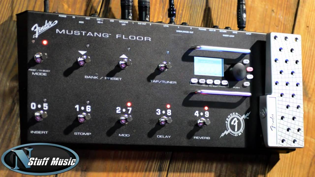 Fender Mustang Floor Multi Effects Unit Youtube