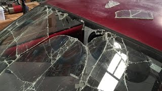 Can you seal the crack? 20,000 watt D.G.A.F. Toyota gets new glass video 15.5