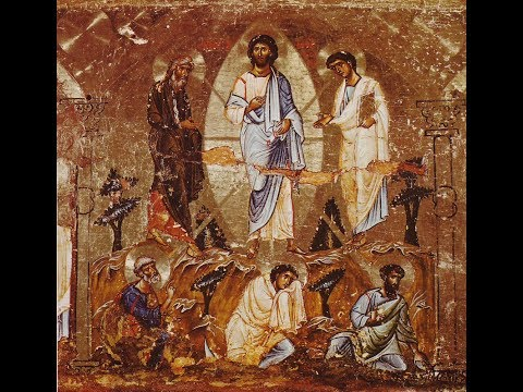The Transfiguration: St Peter Endeavors to Tell Us Something Important