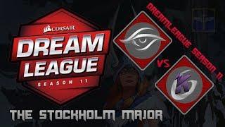 Team Secret vs Keen Gaming / Bo3 / DreamLeague Season 11 Stockholm Major  / Dota 2 Live