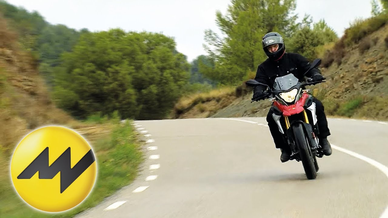 Bmw G 310 Gs Test Motorvision Youtube