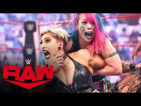 Rhea Ripley vs. Asuka – Raw Women's Championship Match: Raw, April 12, 2021