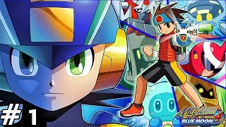 Mega Man Battle Network 4: Blue Moon - Part 1: Jack In! Mom, Execute!