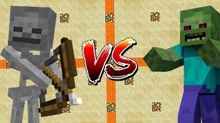 Minecraft Mob Battle Mod - Yaratıkları Kapıştırmak