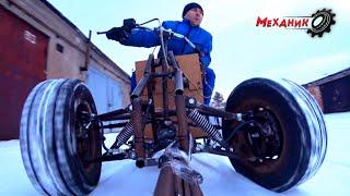 Никто не ожидал, что электро квадроцикл на титанате ТАК поедет!!