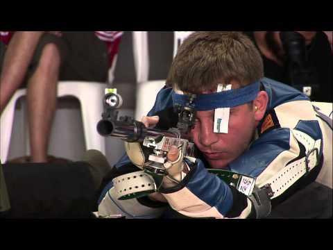 50m Men's Rifle Prone final - Granada 2013 ISSF World Cup in All Events