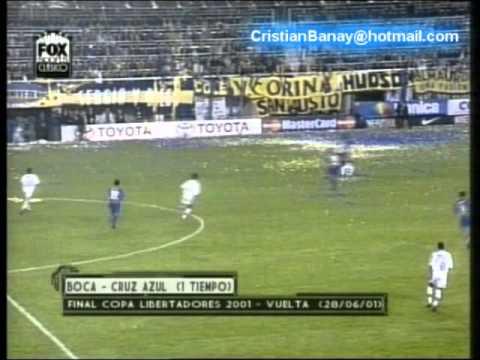 Boca 0 Cruz Azul 1 Copa Libertadores 2011 El gol de Cruz Azul.wmv