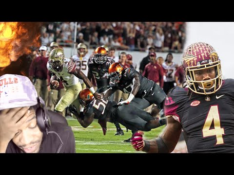 #1 RANKED COLLEGE RB DALVIN COOK 2015 HIGHLIGHTS REACTION!!
