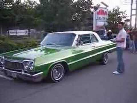 Impala 64 Lowrider Hopping
