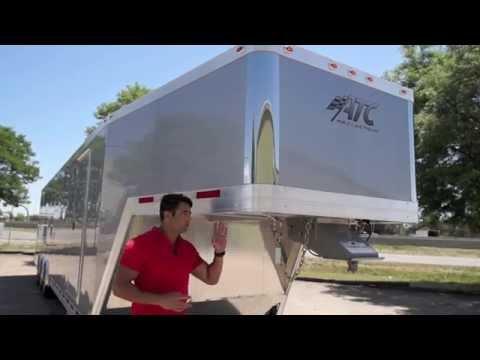 42' Aluminum Race Trailer