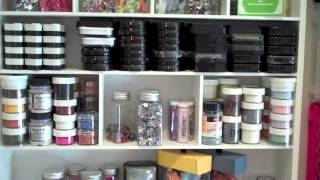 Episode 332   My New Pink Loft   Craft Room Tour