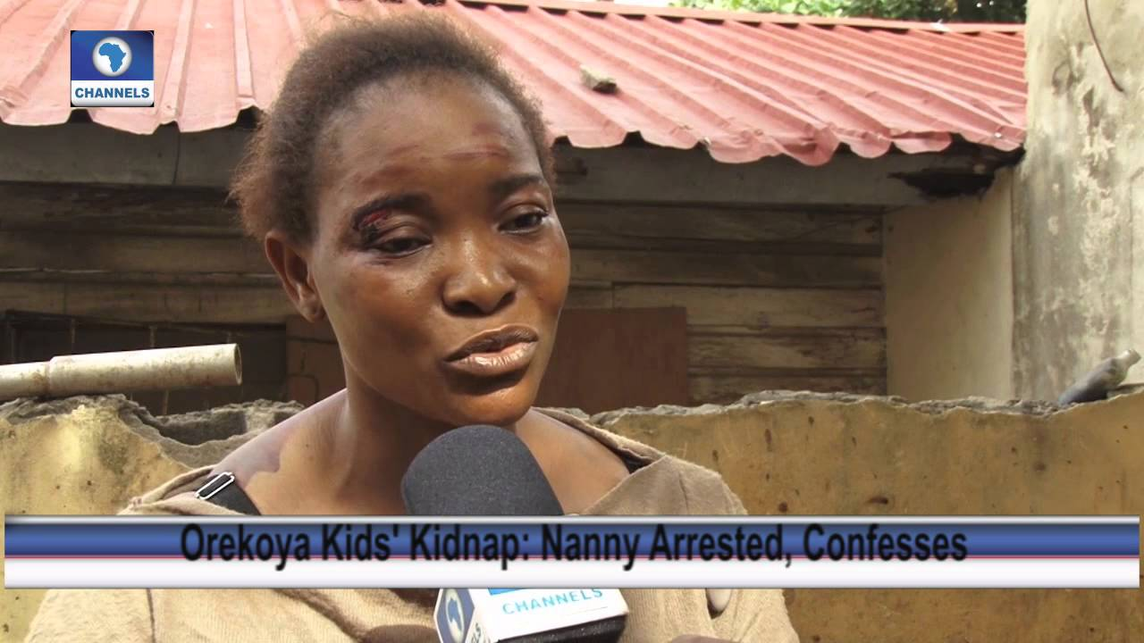 Alarming Confession of Nanny Who Kidnapped Orekoya Children 16/04/15