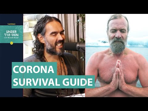 Corona Survival Guide With Wim Hof & Russell Brand | Full Length Podcast