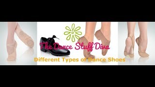 Types of Dance Shoes!