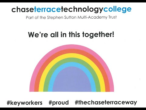 We're All in This Together - Chase Terrace Technology College in Isolation