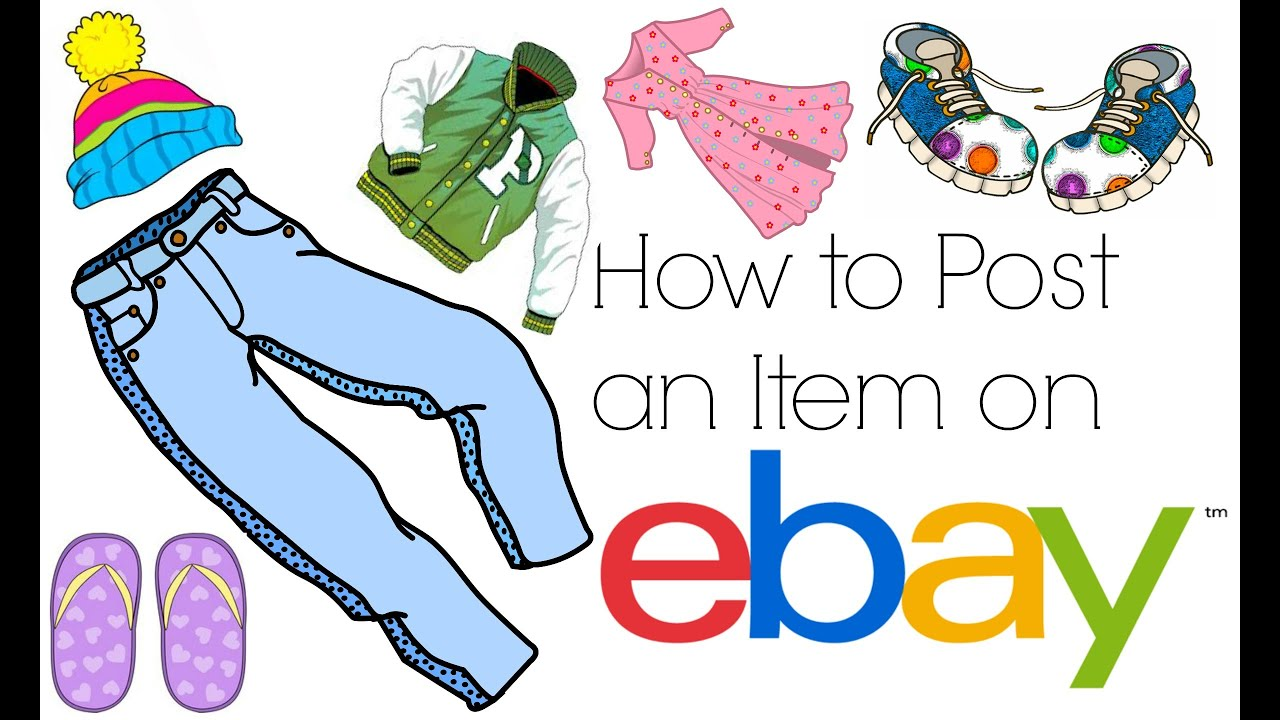 How to Post an item on Ebay (Begginers)