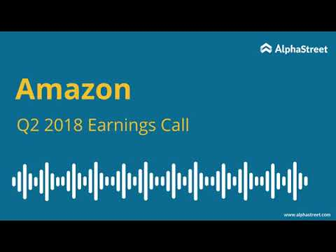 Amazon.com Inc (AMZN) Q3 2019 Earnings Call Transcript