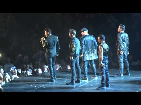 One More Night, NKOTB, Total Package, Grand Rapids 5/13/17