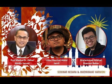 SeNegara 2018: 4 - Education in Harmonious Nation-Building with Hasrizal Jamil