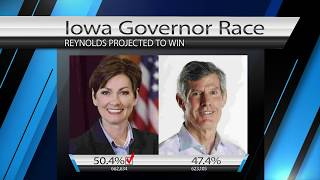 Kim Reynolds Elected Iowa's First Female Governor