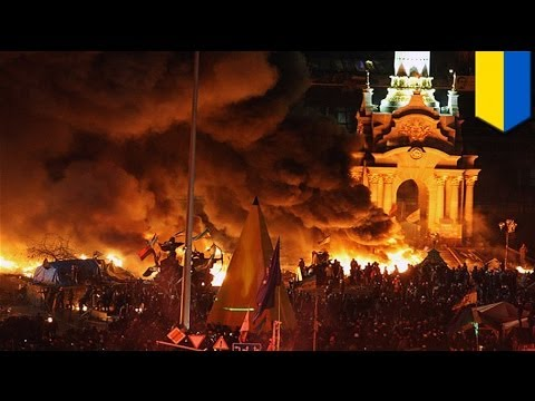 Ukraine unrest: police launch assault on Kiev protest camp, more than 20 killed