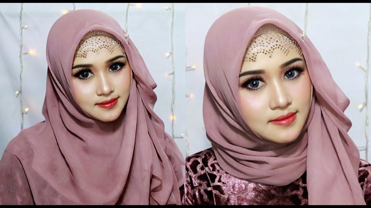 30 Tutorial Hijab Segitiga Simple Modis Untuk Sehari Hari Bergaya