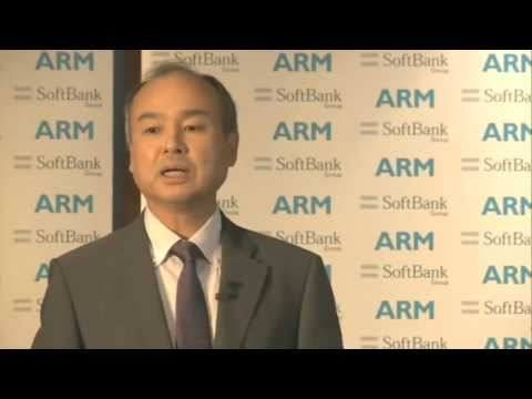 Japanese Press Conference: ARM to be acquired by SoftBank