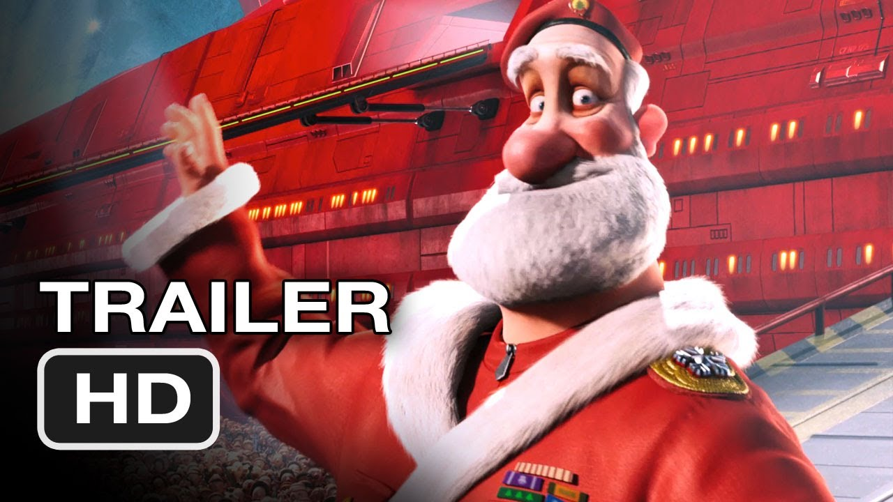 Arthur Christmas Santa.Arthur Christmas 2011 Full Trailer Hd Movie James Mcavoy Movie