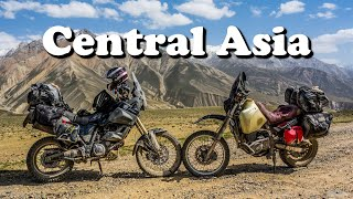 Motorcycle Adventure in Central Asia - Silk Road and Pamir.