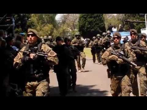 Desfile PFA Semana de la Policia 4/11/16