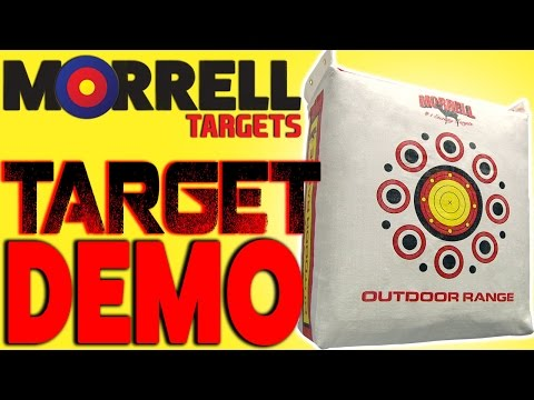 Outdoor Range archery target by Morrell