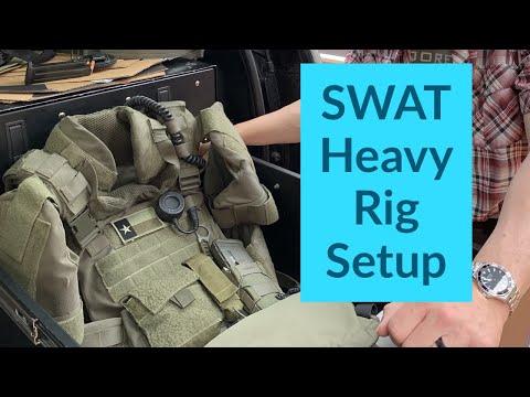 SWAT Heavy Rig Body Armor Setup