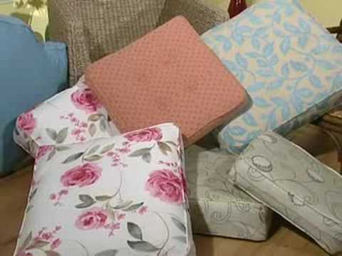 conservatory furniture cushion covers youtube. Black Bedroom Furniture Sets. Home Design Ideas