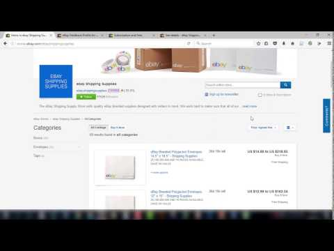 Where to Find Your eBay Branded Shipping Supplies Coupon & How to Use it Correctly