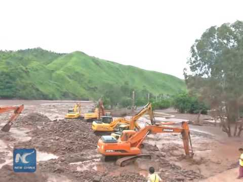 One missing, six injured in SW China landslides