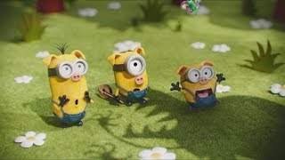 Minions (2015) - Minions in Scarlet's house